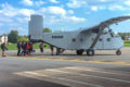 The Skyvan being loaded up at the 2018 Boogie at WNY Skydiving.