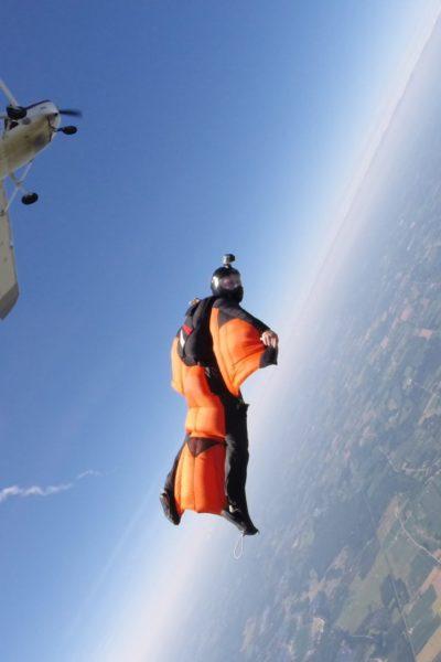 Josh Preston Wingsuiting