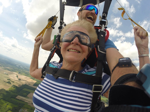 Can You Be Too Old to Skydive | WNY Skydiving