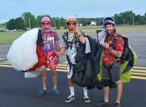 comfort rules when it comes to skydiving clothing