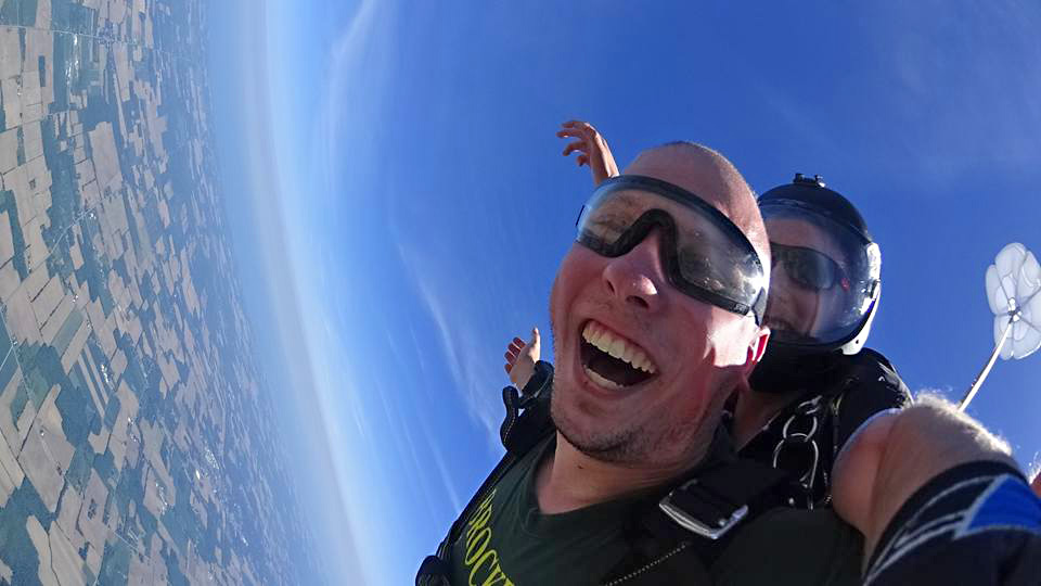 skydiving license cost