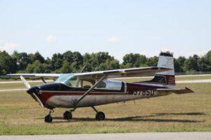 Skydiving airplane at WNY Skydiving