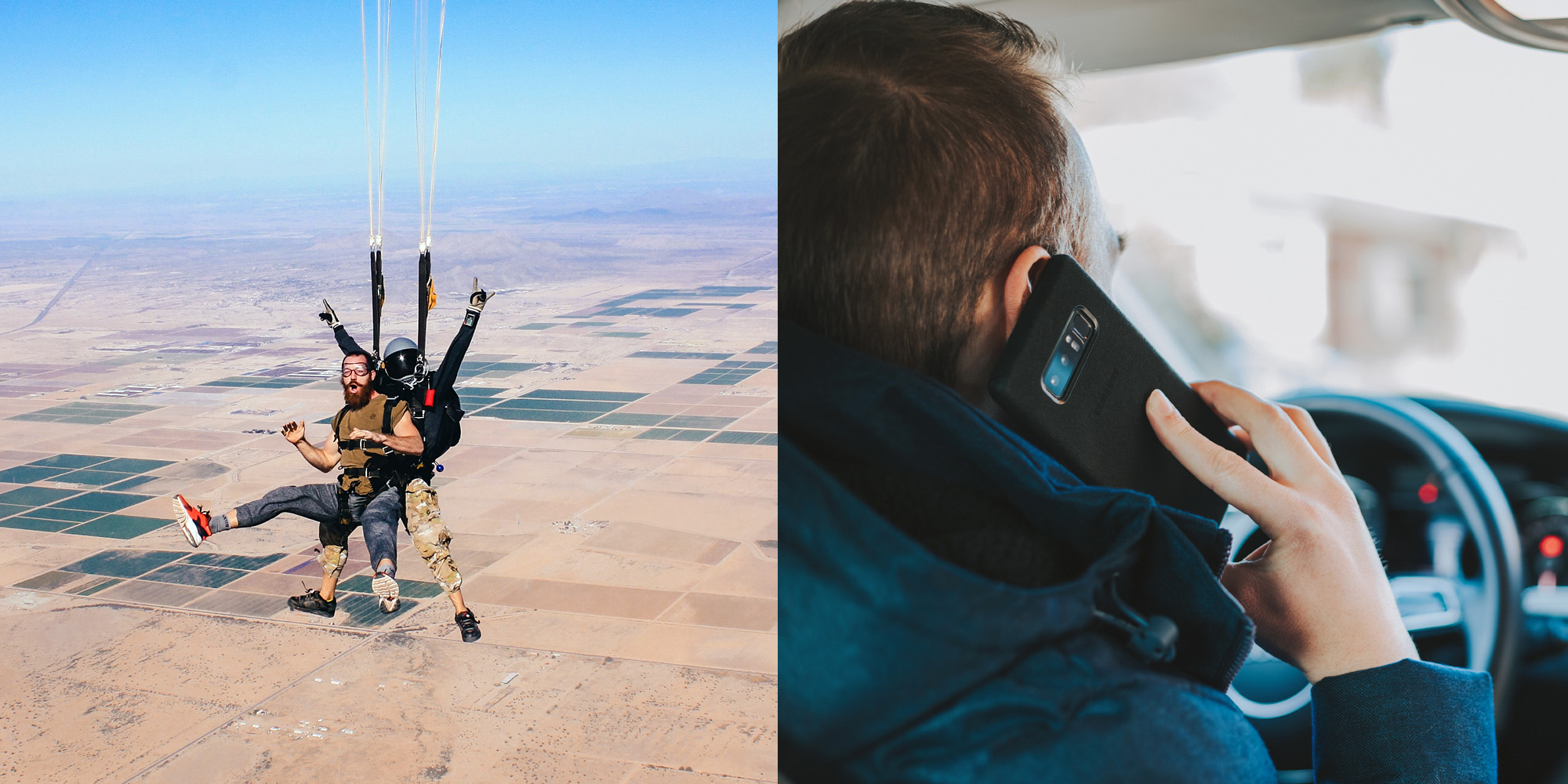 Is Skydiving Safer Than Driving? | Western New York Skydiving