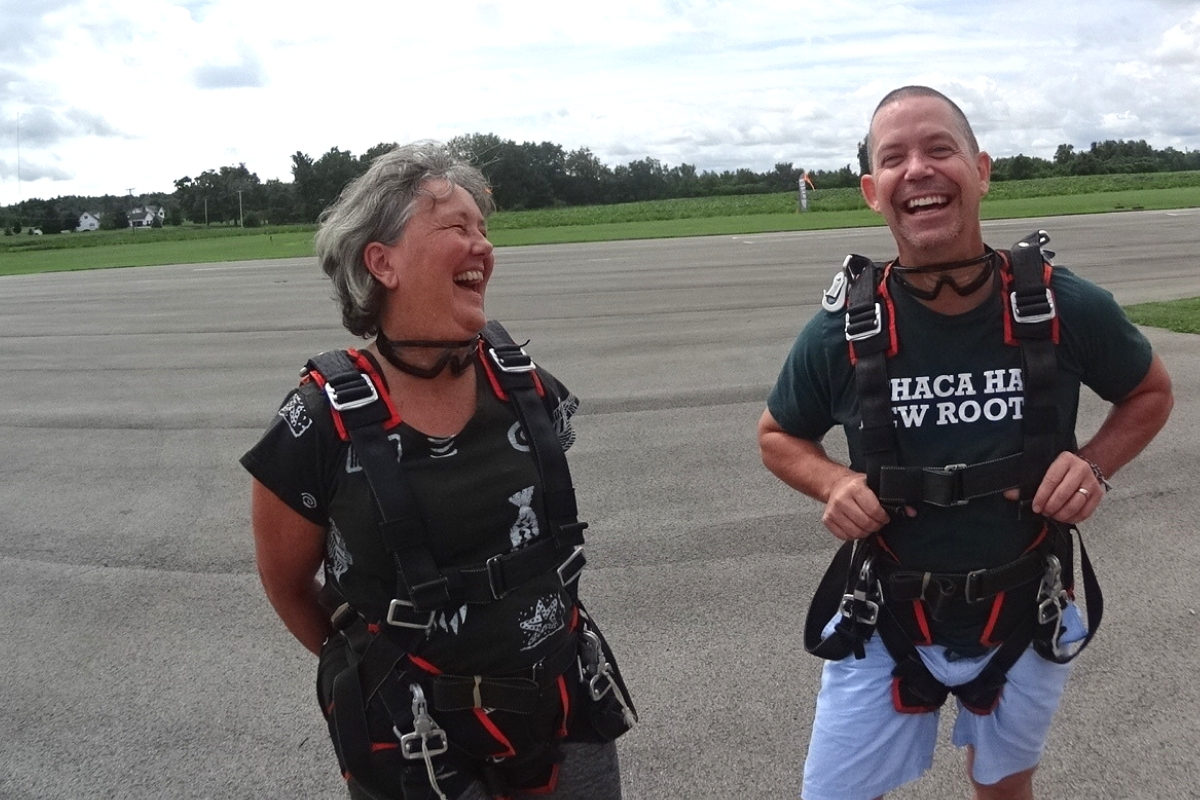 How to Book a Skydive with WNY