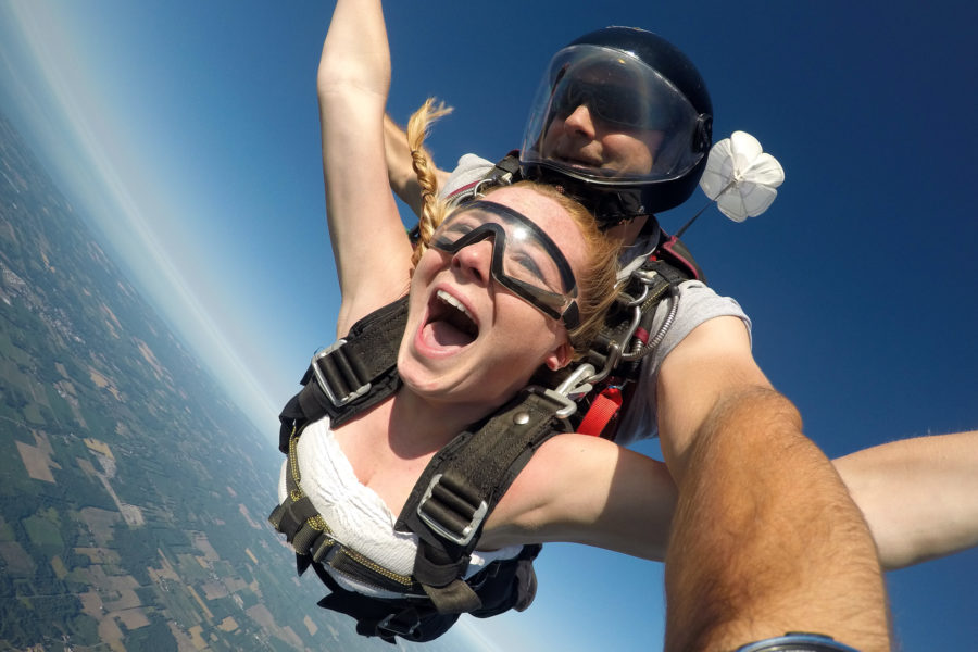 How to Strike Skydiving Off Your Bucket List
