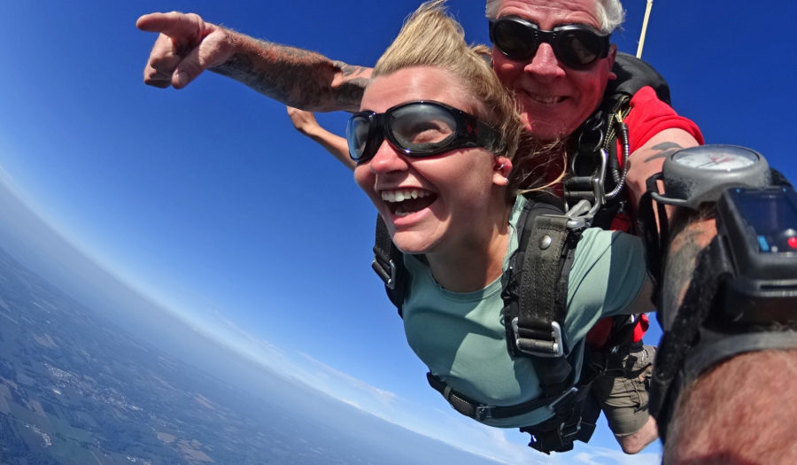 skydiving weather effect