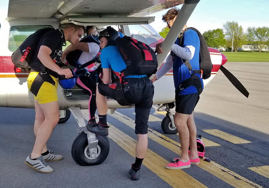 What To Wear Skydiving | WNY Skydive