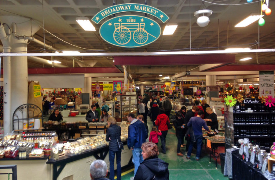 Broadway Market is one of the fun things to do in Buffalo, NY.