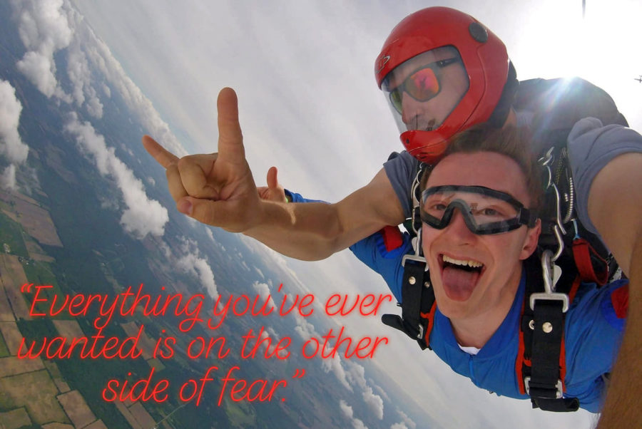 How to Skydive - as shown by a fearless skydiver
