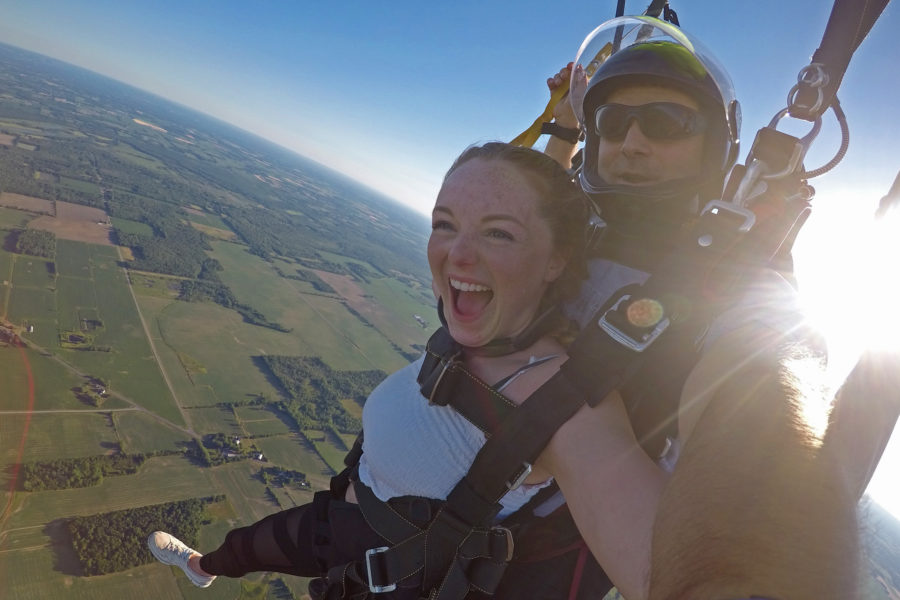 Why Skydiving is the Perfect Escape | WNY Skydiving