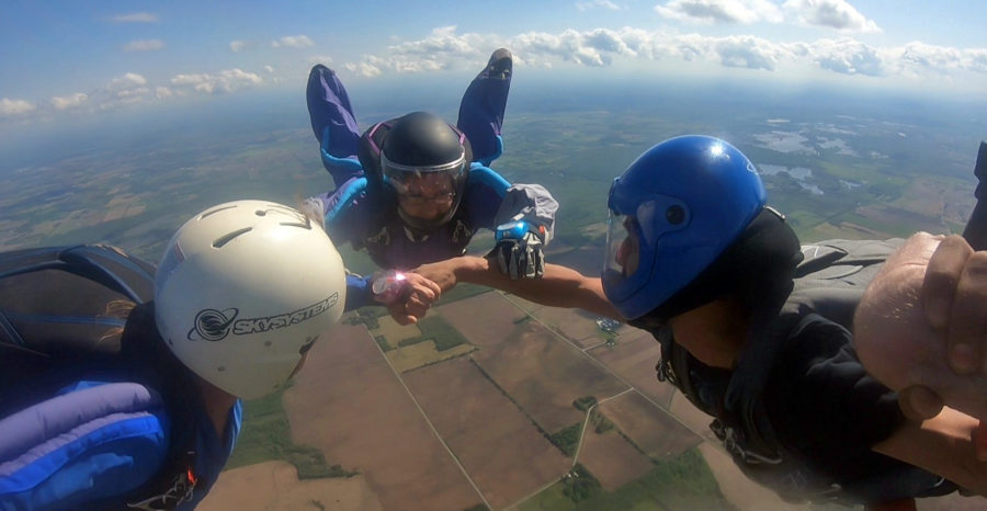 Tandem progression training is a vital part of beginning to wingsuit.