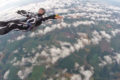 The cost to become a skydiver can never compare to the price of happiness. Just ask this guy!