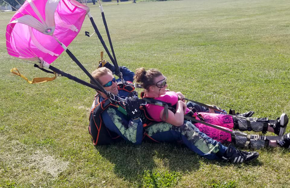 Do You Have to be Physically Fit to Skydive | WNY Skydiving