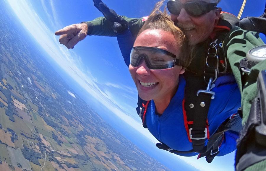 WNY takes you skydiving near Niagara Falls, Lake