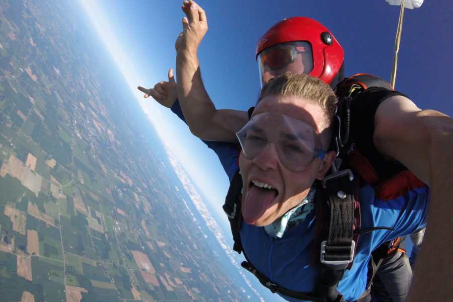 What is Tandem Skydiving? | WNY Skydiving