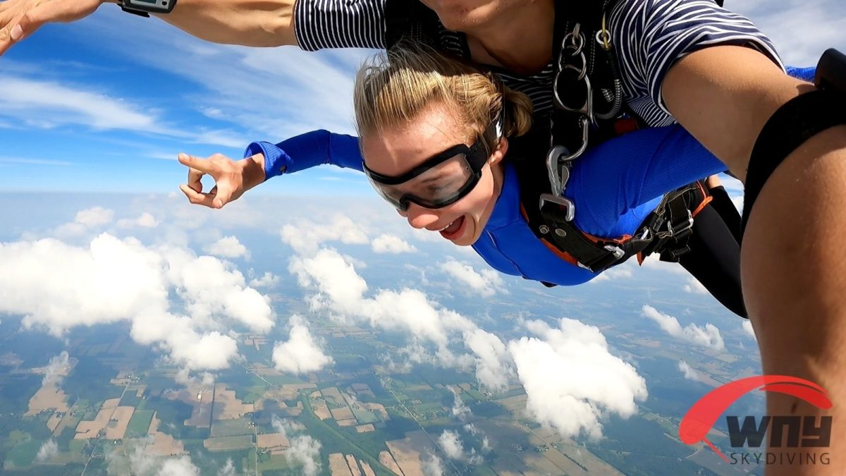 How Long Do You Freefall While Skydiving | WNY Skydiving