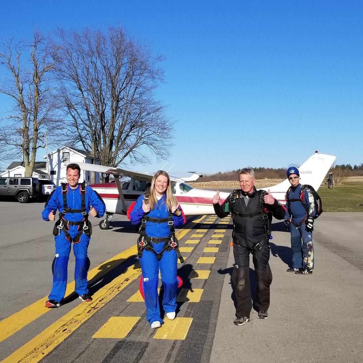 Skydiving vs. Indoor Skydiving | WNY Skydiving