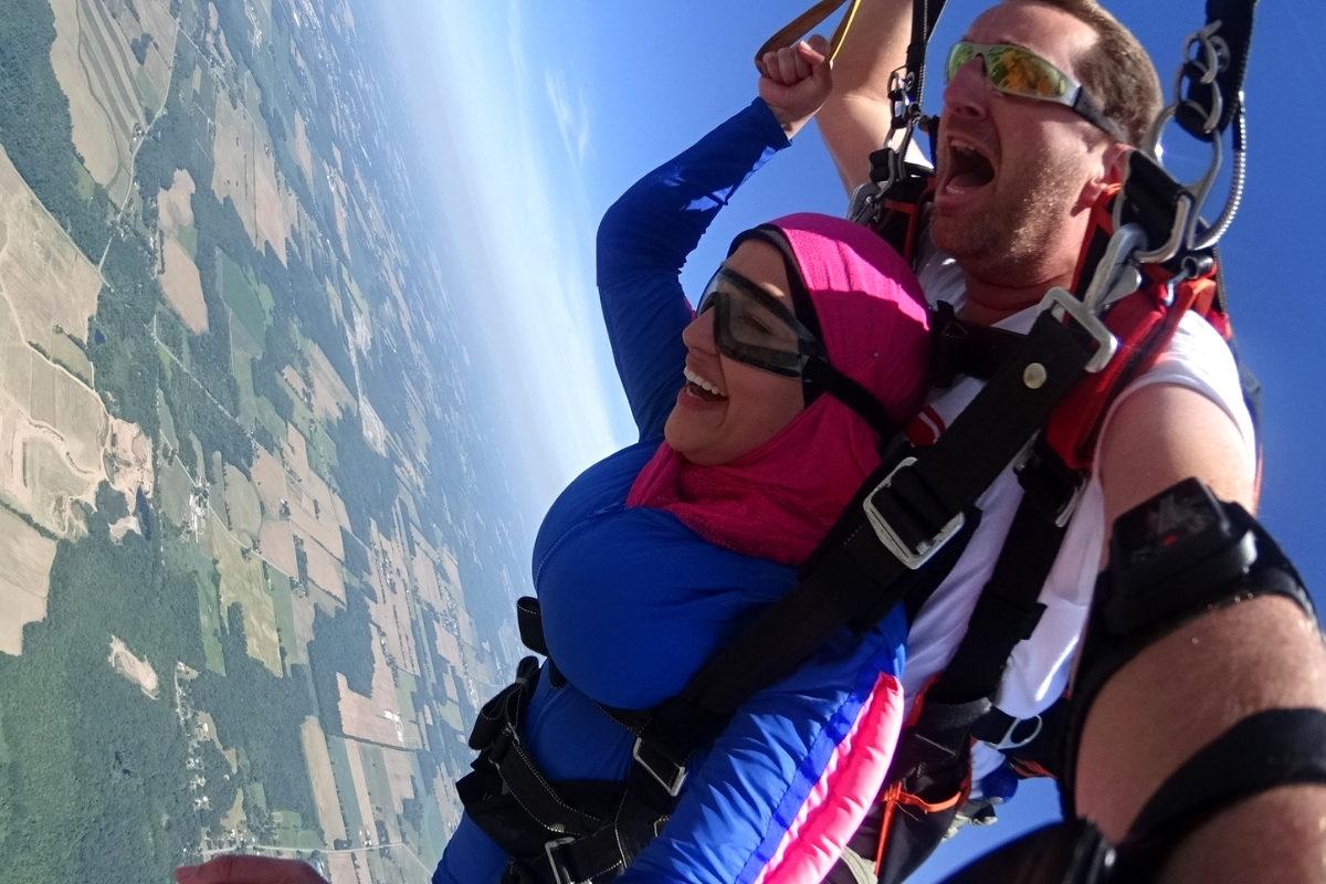 Skydiving vs Indoor Skydiving | WNY Skydiving